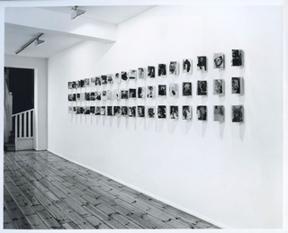 <p><em>Richard Hamilton & Dieter Roth: Interfaces</em>, installation view, February 1990</p>