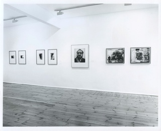 <p><em>Another Focus</em>, installation view, November 1989</p>