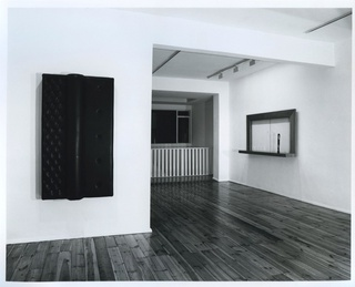 <p><em>Thomas Gr&#252;nfeld: Sculpture</em>, installation view, April 1988</p>