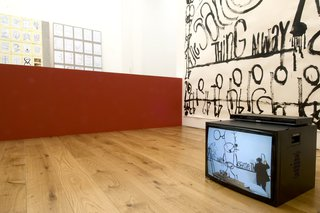 <p>Installation view,&#160;<em>Matt Mullican:&#160;Combination of the Two</em>, October 2008</p>