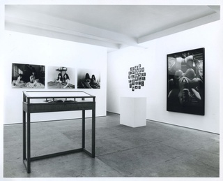 <p><em>Not Self-Portrait</em>, installation view, May 1994</p>