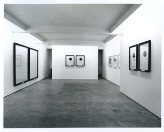 <p><em>Keith Coventry: New Works</em>, installation view, October 1993</p>