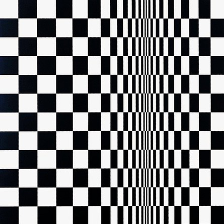 Bridget Riley, 'Movement in Squares', 1962. © Bridget Riley 2014. All rights reserved.