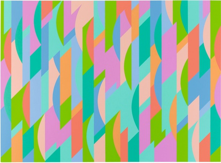 Bridget Riley, 'Lagoon 2', 1997. © 2015 Bridget Riley. All rights reserved.