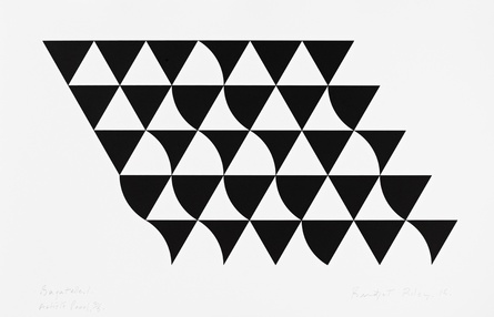 Bridget Riley, 'Bagatelle 1', 2015. © Bridget Riley 2015. All rights reserved.