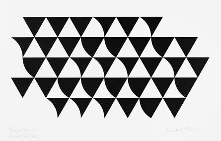 Bridget Riley, 'Bagatelle 2', 2015. © Bridget Riley 2015. All rights reserved.