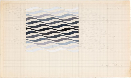 'Study for Arrest Series', 1965. © Bridget Riley 2016. All rights reserved.