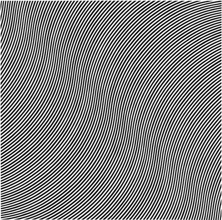 'Over', 1966. © Bridget Riley 2016. All rights reserved.